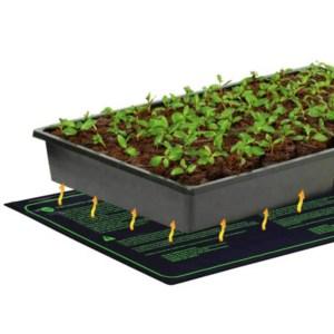 Varmemåtte for spire og stiklinger 25x50cm passer til de fleste plantebakker