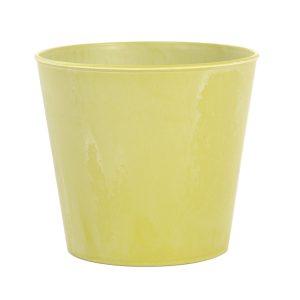 Groene sierpot (gerecycled kunststof - voor potmaat 12)