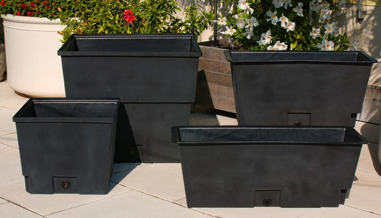DeepStream rugged waterproof planter liners with advanced drainage