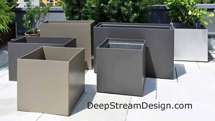 Click this picture for more information on DeepStream's website about HDPE food-safe planters.