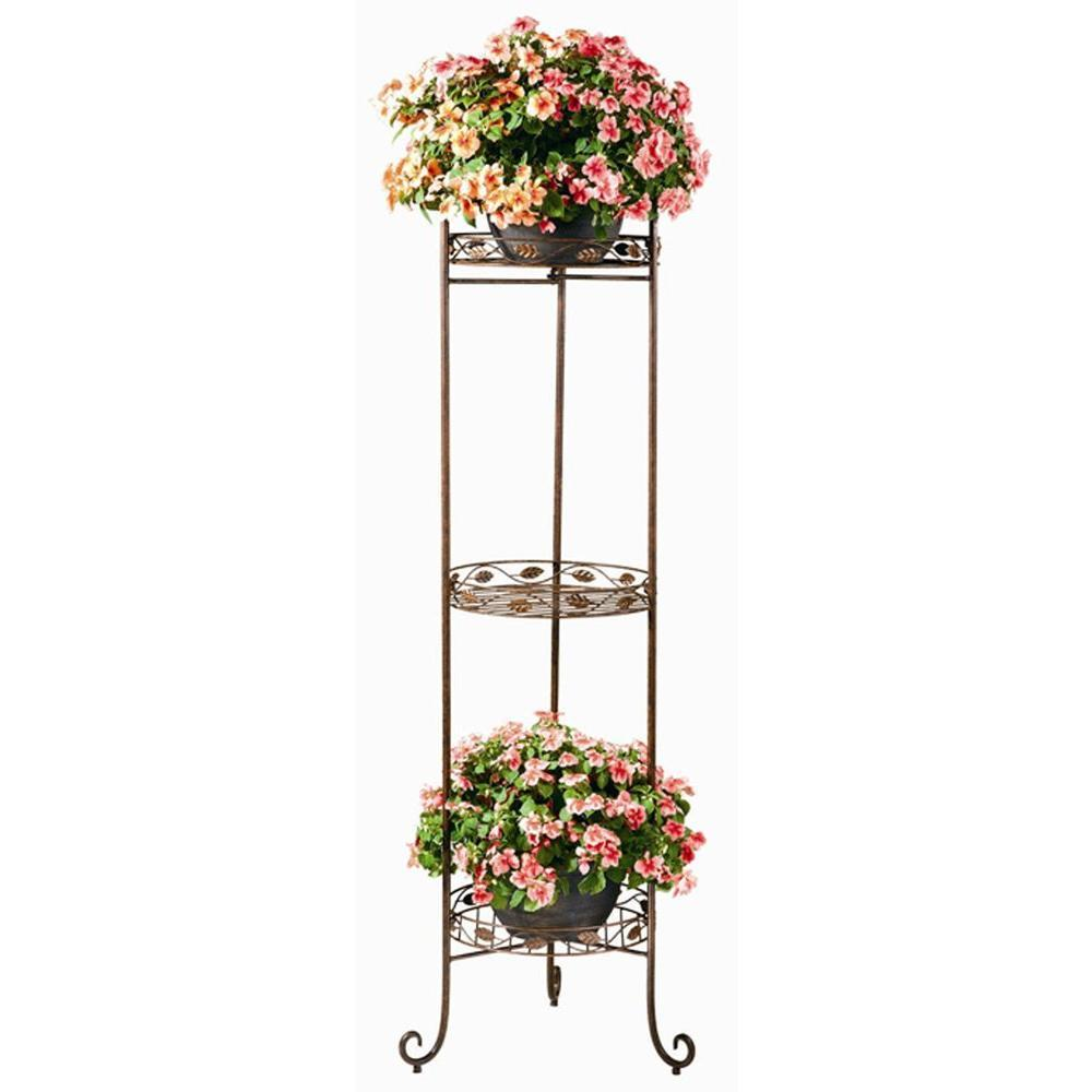 Show Off Your Plants with these Great Plant Stand Ideas ... on Iron Stand Ideas  id=54176