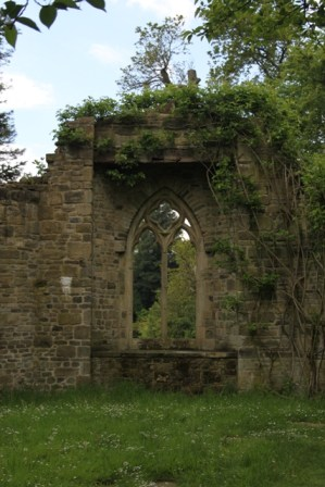 A 'ruined' abbey