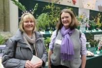 Fiona (right) with Kathy from Norfolk