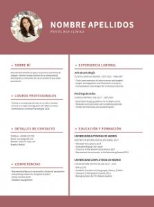 Plantillas Curriculum Vitaeᐈ Para Descargar Gratis En Word