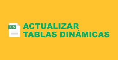 ACTUALIZAR Tablas Dinámicas EXCEL [En Automático con MACROS VBA]