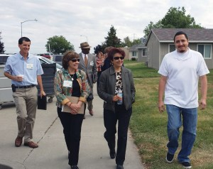 Migrant Center tour May 2014