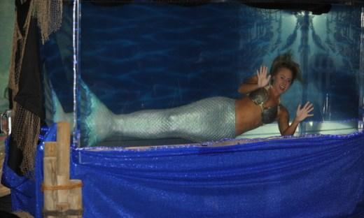 Mermaid Melissa at the Los Angeles County Fair.
