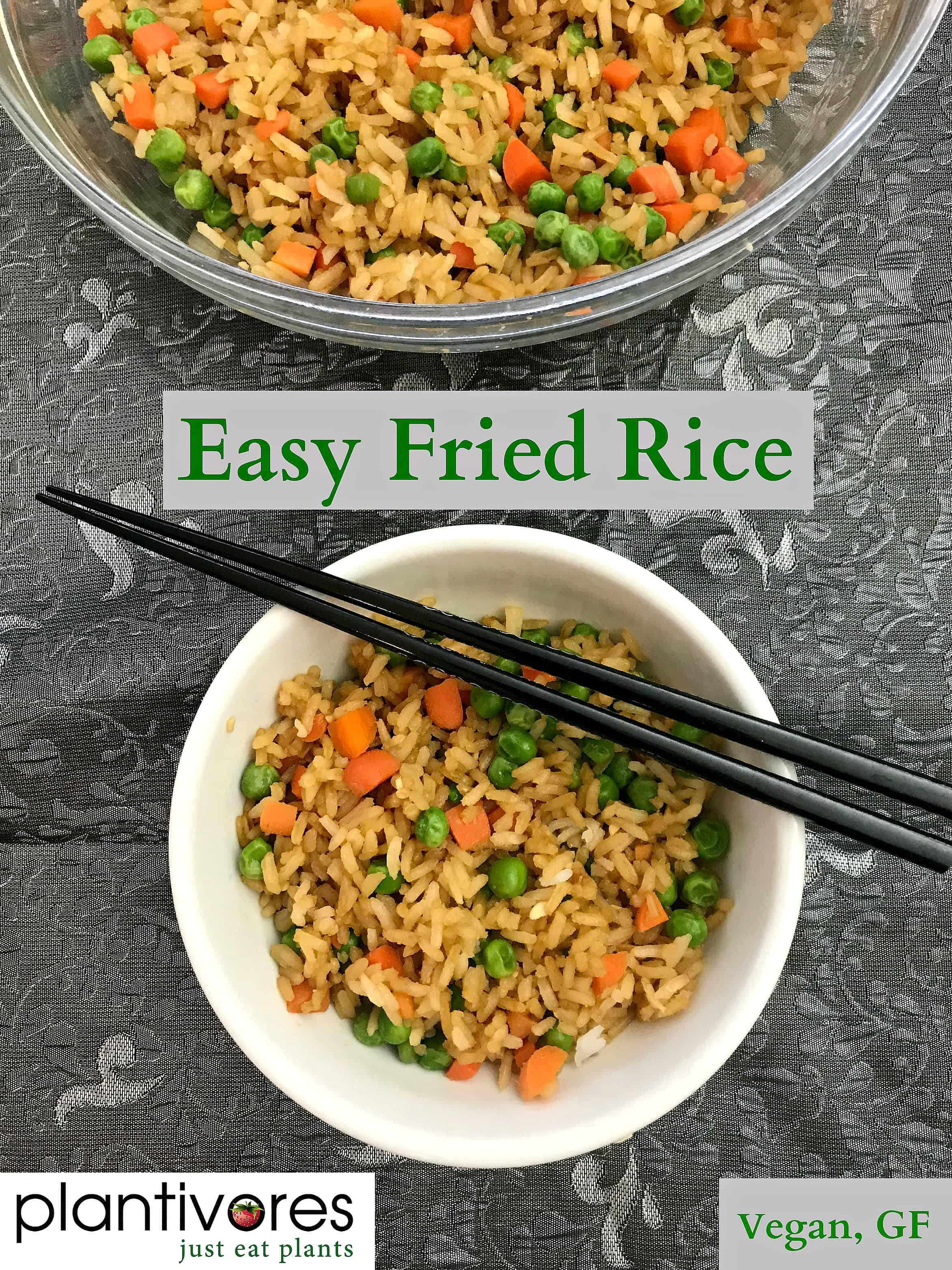 Easy fried rice vegan gf plantivores easy fried rice vegan gf ccuart Choice Image