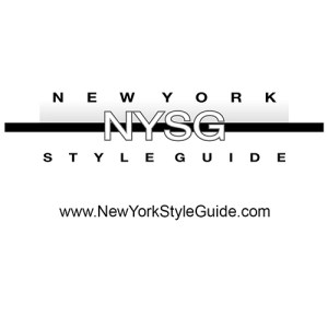 New York Style Guide