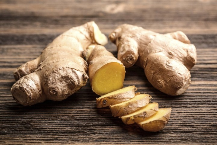 ginger proves to be antiviral.
