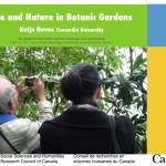 Cultivating nature and nurturing eco-citizenry in urban botanic gardens
