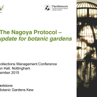 ABS/Nagoya Protocol update - horticultural perspective