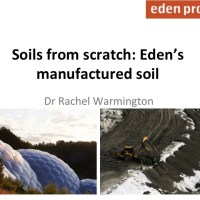 Engineered soils at the Eden Project