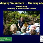 Guiding by volunteers - the way ahead