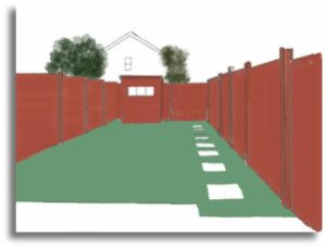 red-fence-stepping-stones-b