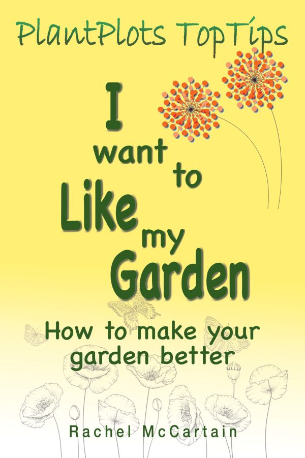 book cover image I want to like my garde nby rachel mccartain yellow book cover garden book