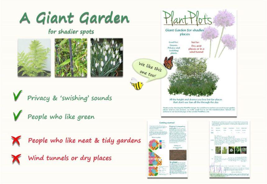 tall garden border design idea product