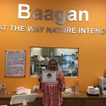 Baagan Certificate Held by Rajbir