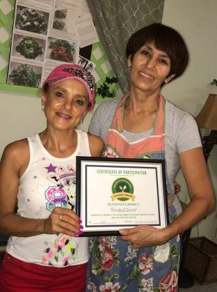 Beauty of Sprouts - Amy and Rona