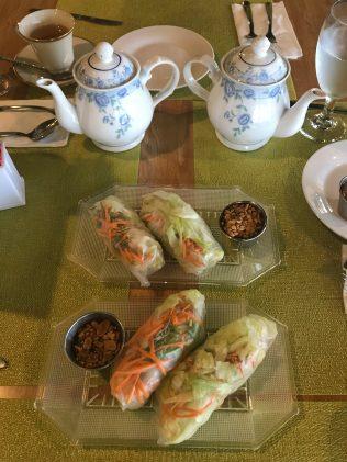 Mint Asian Cuisine Spring Rolls