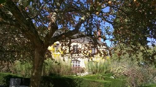 Chateau Blois garden