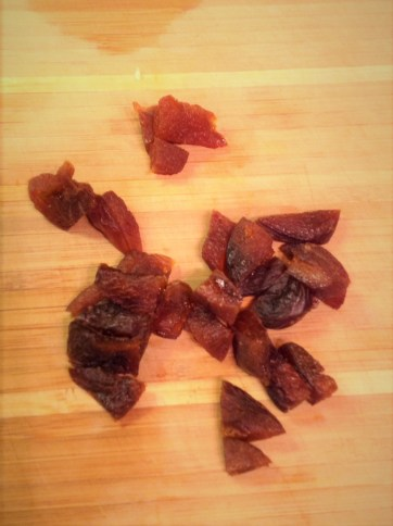 Chef's Healthy Tip: Chopped dried apricots add natural sweetness for interesting, complex flavors in this healthy recipe