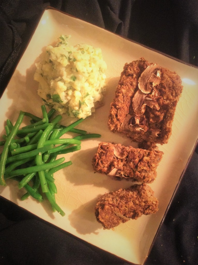 Hearty Mushroom Lentil Loaf - Healthy, Plant-Based, Oil-Free, Gluten-Free, Vegan, Holiday Entree Recipe from Plants-Rule