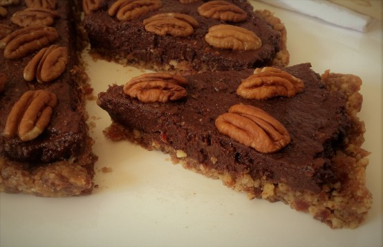 """Chocolate, Pecans, and layers of goodness. Now you're ready to """"Talk Derby!"""""""
