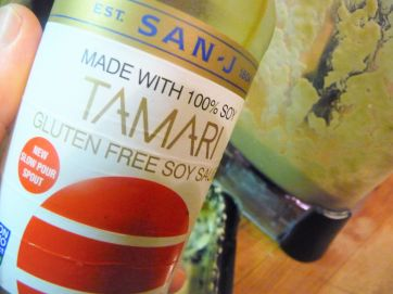 Tamari vs. Soy Sauce: Tamari is similar to soy sauce, but it is gluten-free. If gluten isn't a concern for you, you can use them interchangeably in recipes.