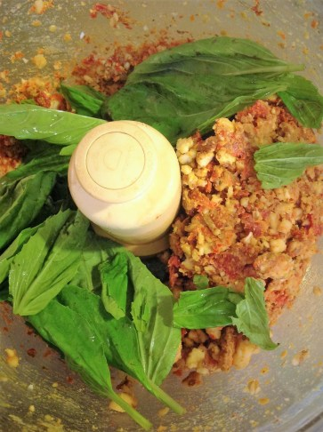 Fresh basil adds a pop of bright Italian flavor