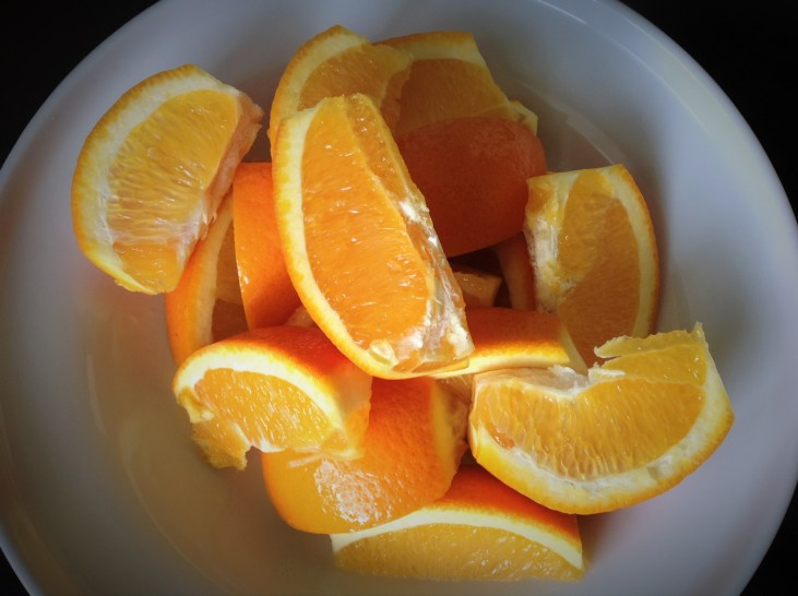 Whole navel oranges are pureed into the sauce for thick, creamy texture and natural sweetness