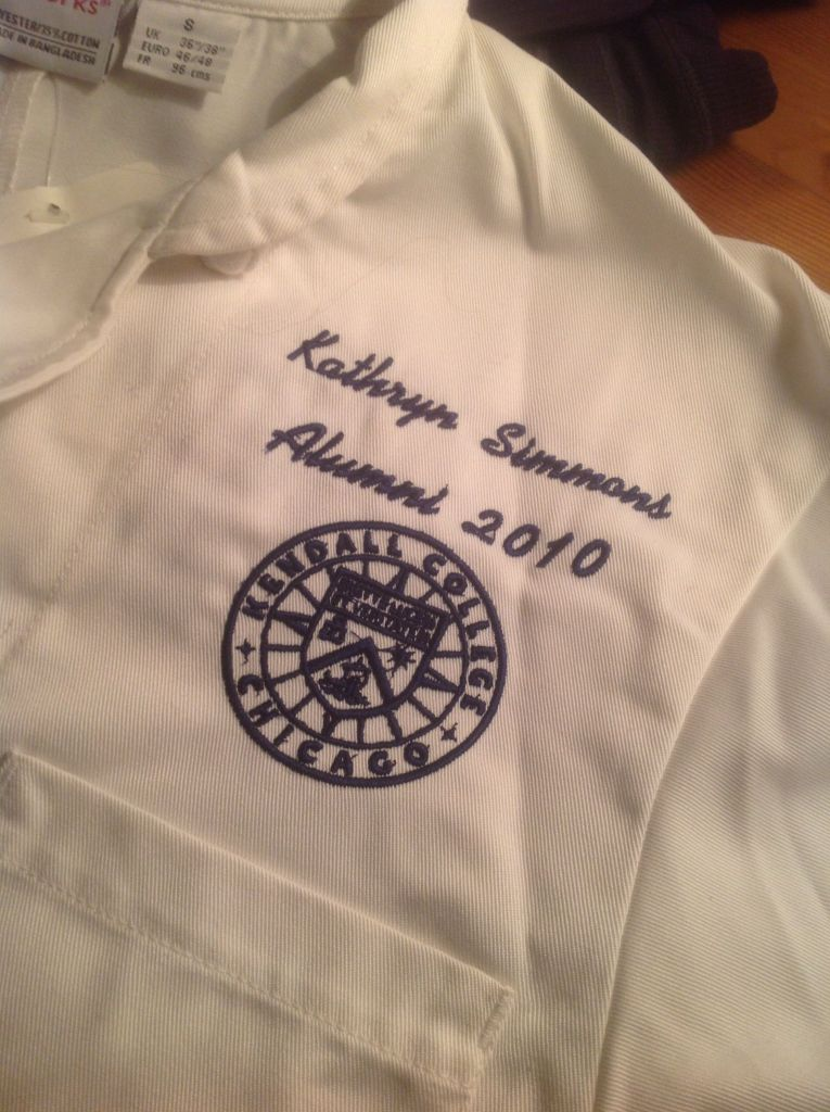 Kendall College Chef Coat