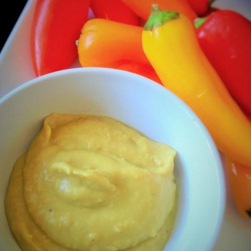 Roasted Garlic White Bean Spread - Healthy, Gluten-Free, Oil-Free, Vegetarian Protein, Vegan Dip Recipe