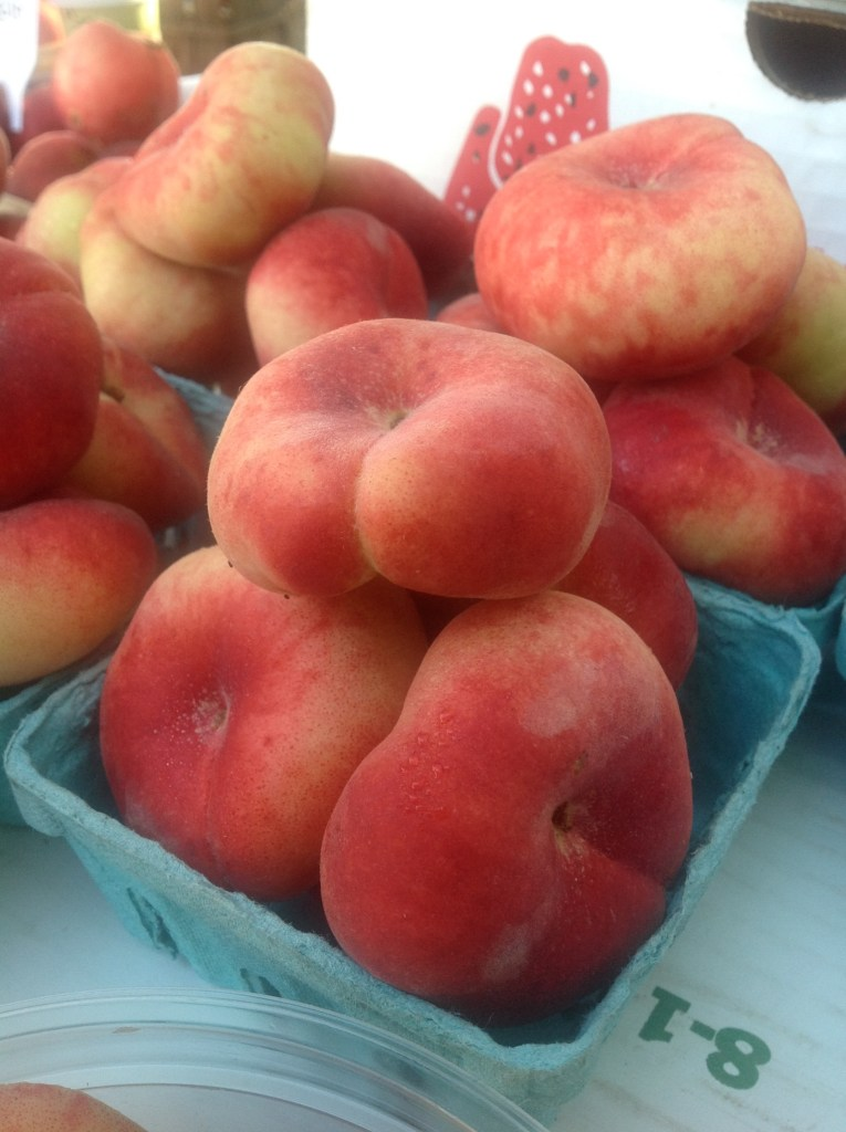Donut Peaches are ridiculously sweet! Delicious in this healthy, plant-based vegan recipe