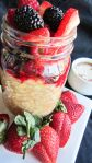 Easy Overnight Mixed Berry Oats in Mason Jars - Healthy, Plant-Based, Gluten-Free, Vegan Breakfast Recipe from Plants-Rule