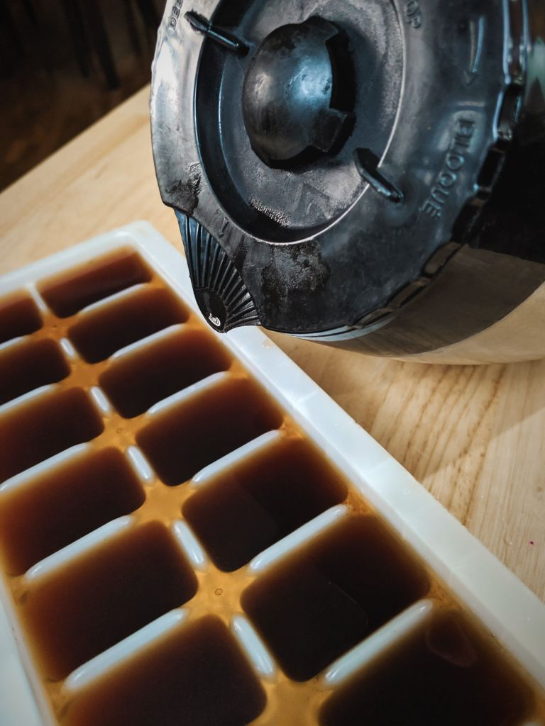 Creamy Vegan Pumpkin Spice Frappuccino Coffee Drink - Easy, Fall Seasonal Plant-Based Recipe from Plants-Rule