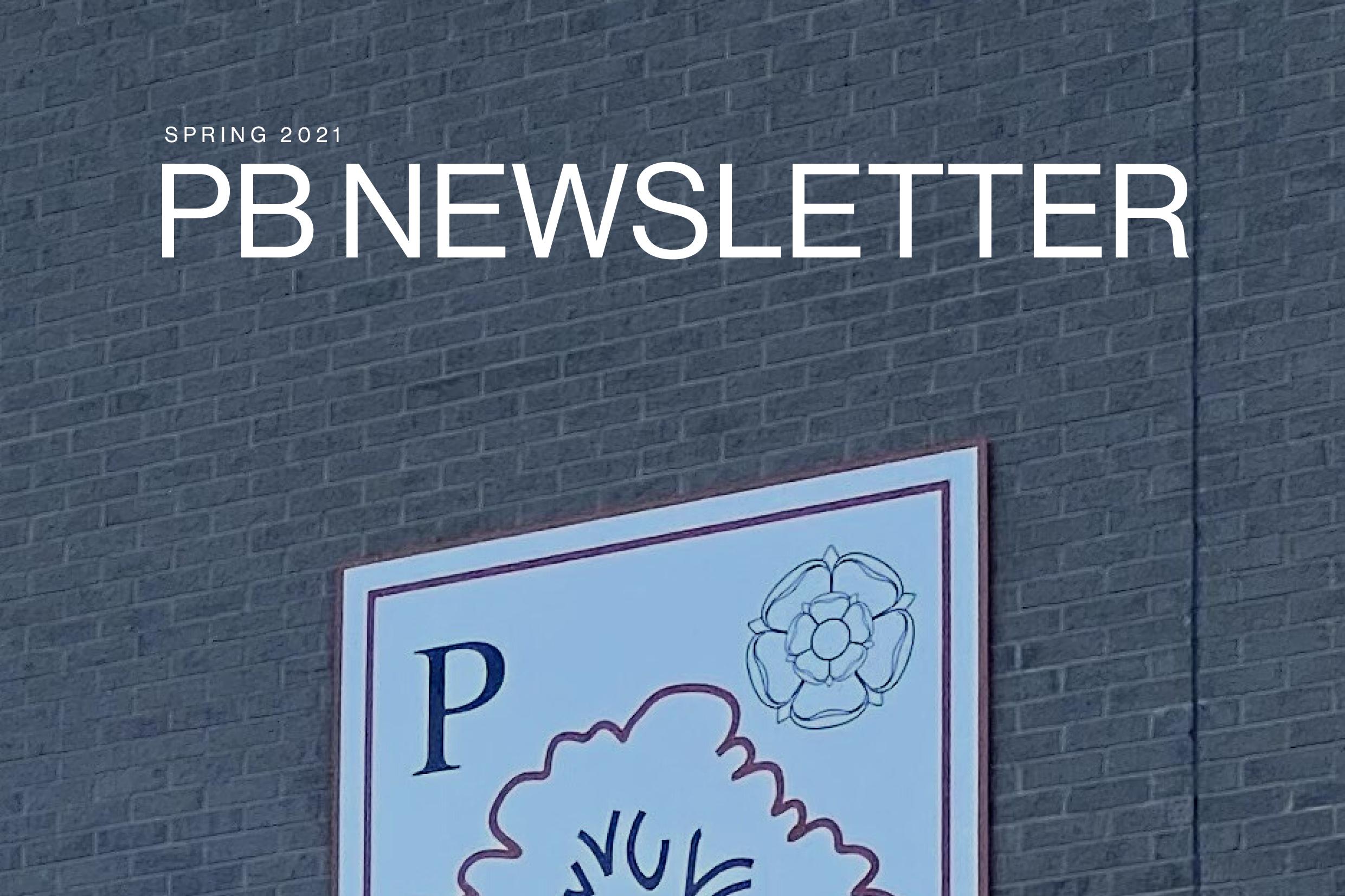 PB Newsletter Spring 2021