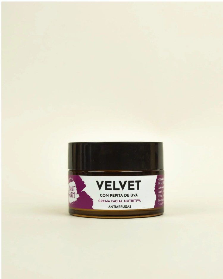 Crema facial Velvet para piel seca