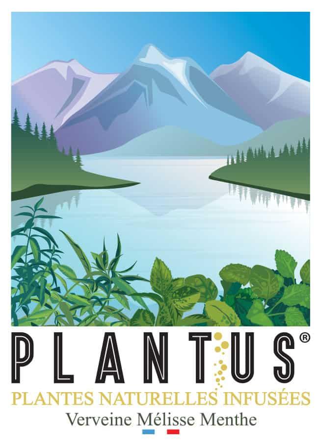 Illustration de PLANTUS Vallée Verveine Mélisse Menthe.