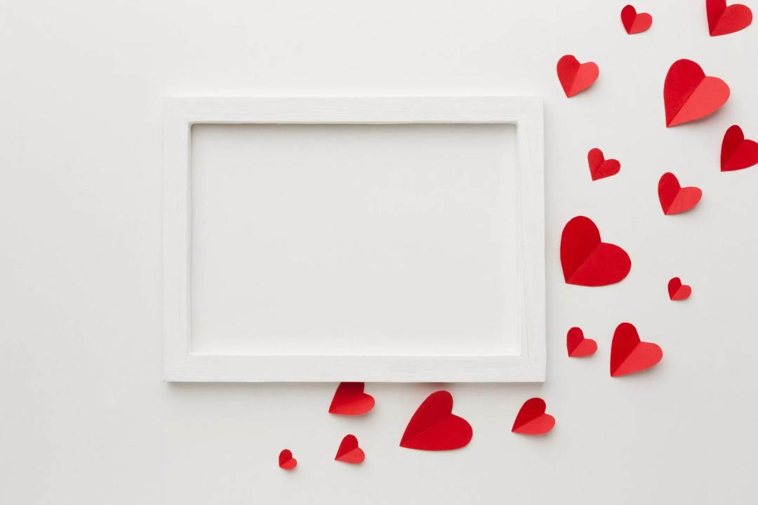 Heart Frame Valentine Decorations for Office