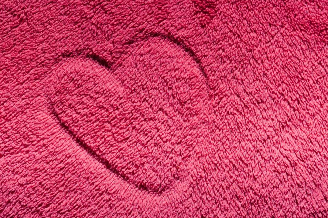 Valentines day decoration floor carpet