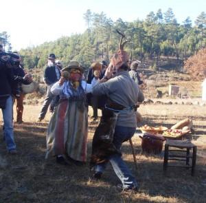 La Chicharrona baila con el Chicharrón/Vicente Martín Martín