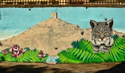 Mural en Torre de Don Miguel