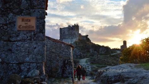 Castillo de Trevejo en Villamiel