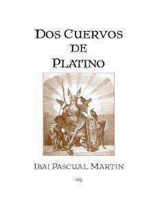 portada libro Ibai Dos cuervos de platino