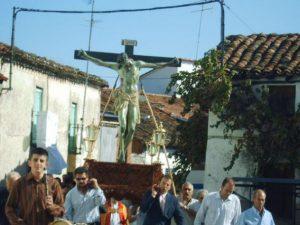 GUIJO DE GALISTEO, PROCESIÓN DEL CRISTO, 2008, SANDRA.