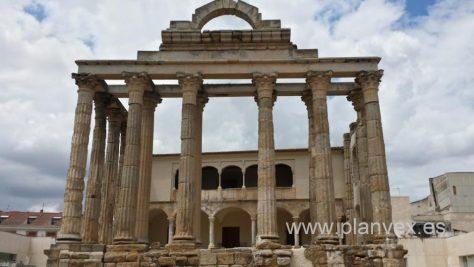 templo-de-diana-2 Mérida