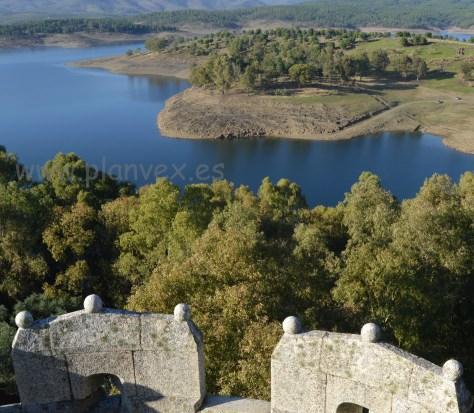 Granadilla Extremadura embalse Gabriel y Galán