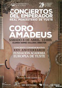 Coro Amadeus en Yuste