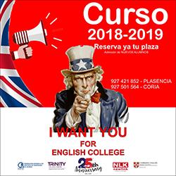 English College anuncio